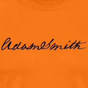 Adam Smith signature 1783 - Men's Premium T-Shirt