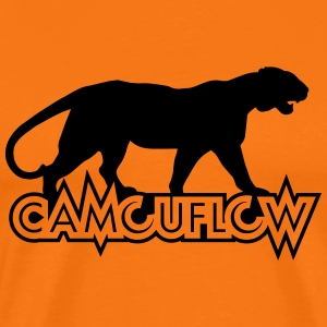 Camouflow Panther - Premium-T-shirt herr
