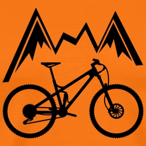 mountain bike - Men's Premium T-Shirt