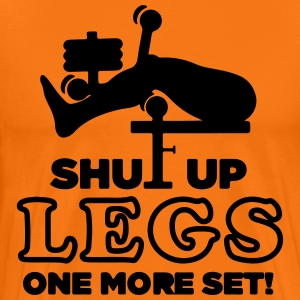 Give rest legs, only one set! - Men's Premium T-Shirt