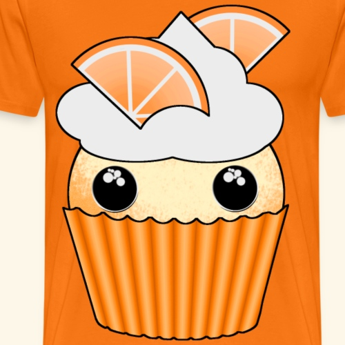 muffins apelsin orange med klyftor - Men's Premium T-Shirt
