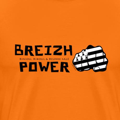 Breizh power - T-shirt Premium Homme