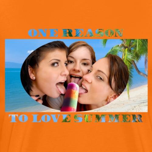 Summer Love - Männer Premium T-Shirt