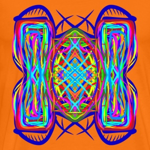 turtle tortoise trippy abstract psychedelic - Men's Premium T-Shirt