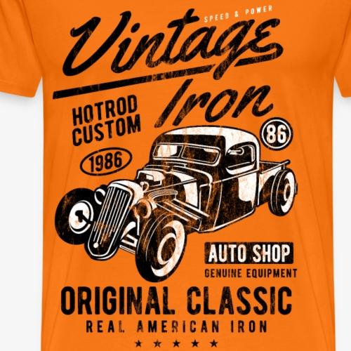1986 HOTROD - Vintage Hotrod Auto Geschenk Shirt - Männer Premium T-Shirt