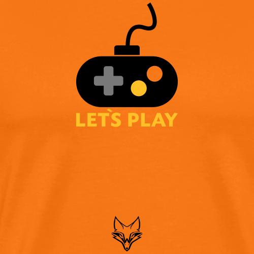 lets play Gamepad - Männer Premium T-Shirt