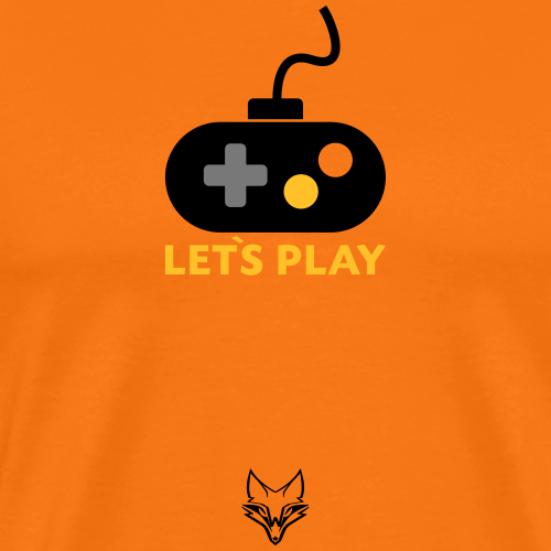 lets play Gamepad - Männer Premium T-Shirt