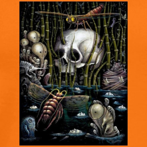 Döden i havet - Premium-T-shirt herr