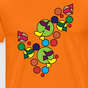 Abstract Design 002 - Men's Premium T-Shirt