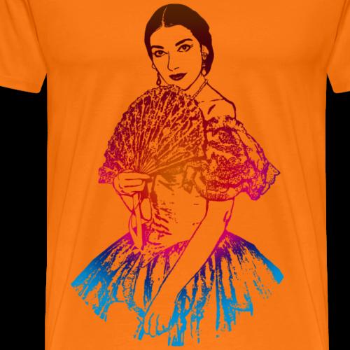 La traviata: Maria Callas als Violetta Valéry - Männer Premium T-Shirt