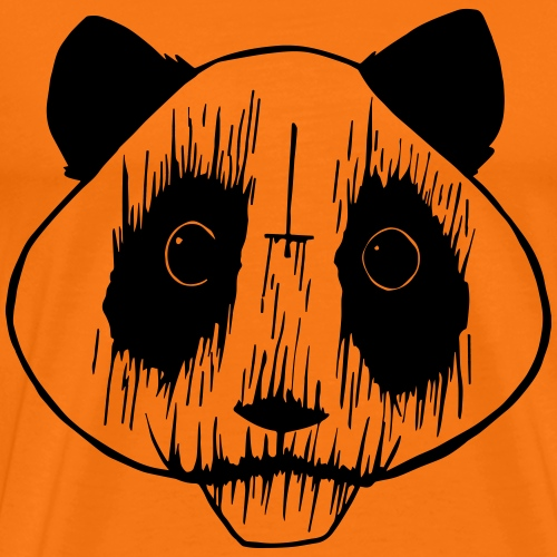 Black Metal Panda - Männer Premium T-Shirt