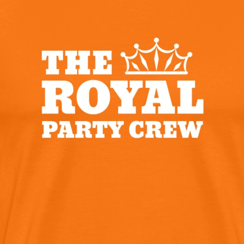 The Royal Party Crew | Koningsdag T-shirt - Mannen Premium T-shirt