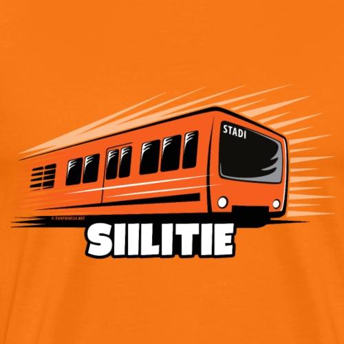 08 - METRO SIILITIE - HELSINKI - LAHJATUOTTEET - Miesten premium t-paita