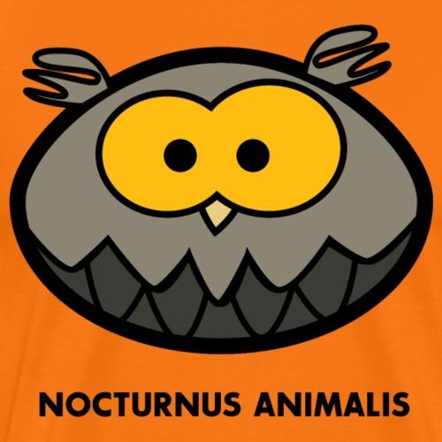 Nachtaktives Tier nocturnus animalis - Männer Premium T-Shirt