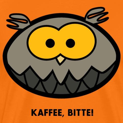 Kaffee bitte! - Männer Premium T-Shirt