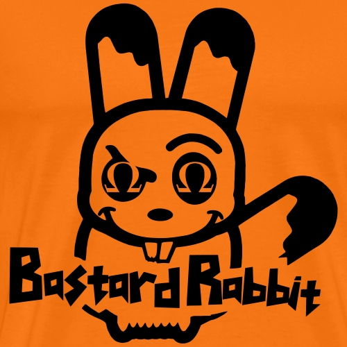 Bastard Rabbit - Maglietta Premium da uomo