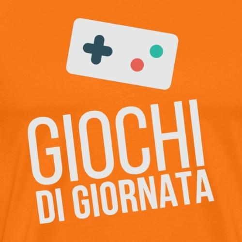 Logo Chiaro Lite - Maglietta Premium da uomo