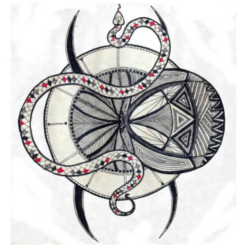 Spider Tatoo/ Araignée feutre - T-shirt Premium Homme