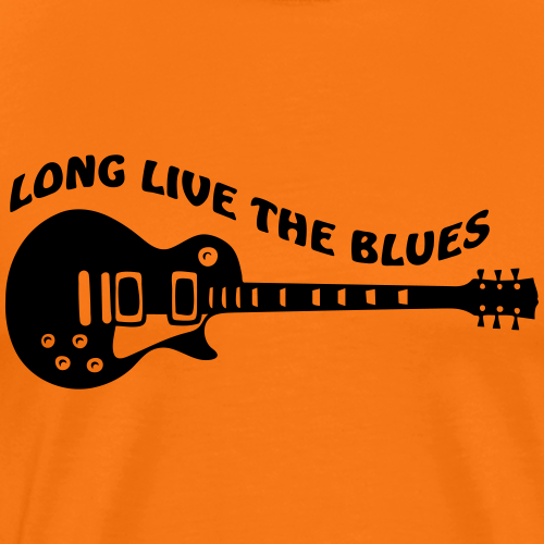 Long Live The Blues - Männer Premium T-Shirt