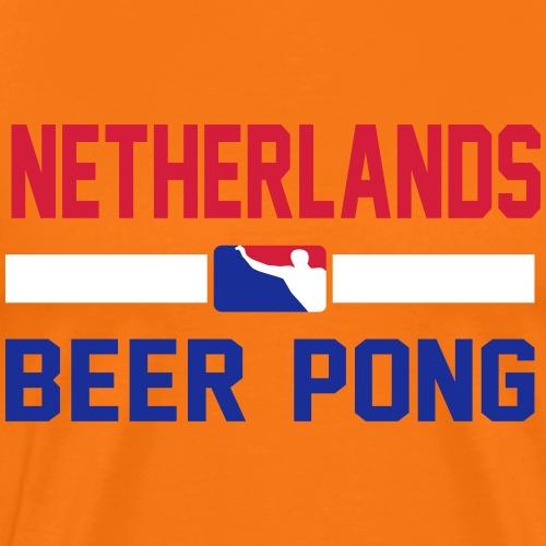 Netherlands Beer Pong - Männer Premium T-Shirt