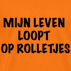Rolletjes - Mannen Premium T-shirt