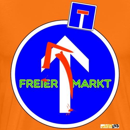 freier markt - Männer Premium T-Shirt