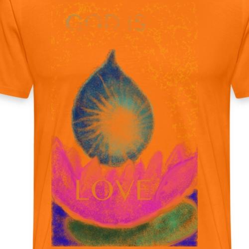 GOD IS LOVE - Männer Premium T-Shirt