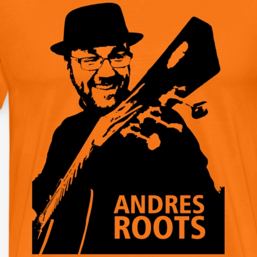 Andres Roots photo T-shirt, no background - Men's Premium T-Shirt