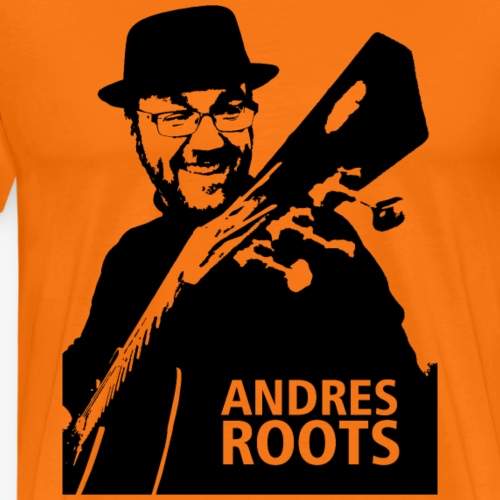 Andres Roots photo T-shirt, no background - Men's Premium T-Shirt