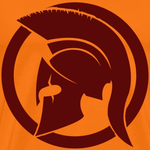 Spartan brun - T-shirt Premium Homme