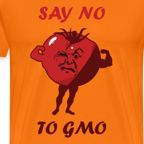 SAY NO TO GMO - Men's Premium T-Shirt