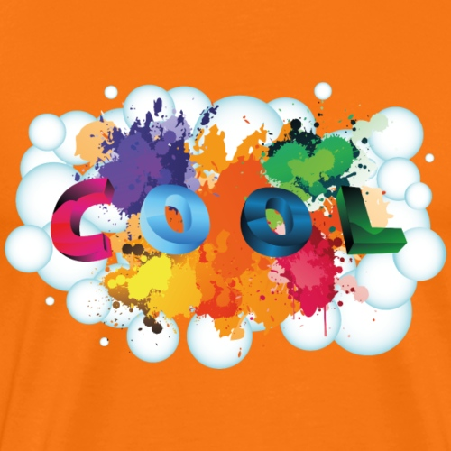 Cool Farbdesign Blase - Männer Premium T-Shirt