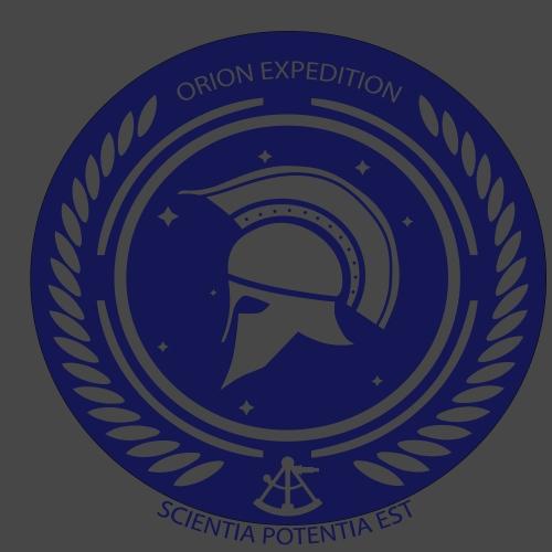 Orion Exploration Logo - Männer Premium T-Shirt