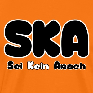 SKA was niet ass - Mannen Premium T-shirt