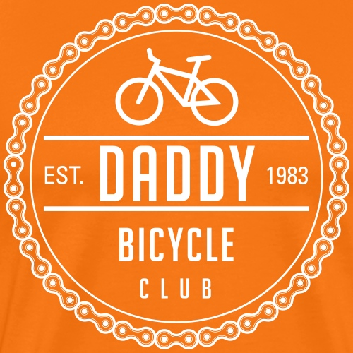 Daddy bicycle club 3 - Men's Premium T-Shirt