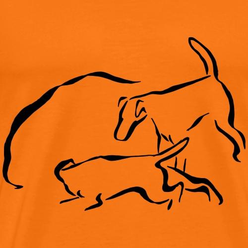 Foxit - musta - Miesten premium t-paita