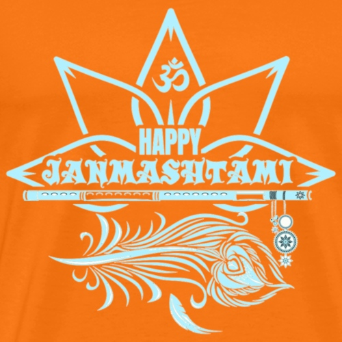 Happy Janmashtami 1 - Männer Premium T-Shirt