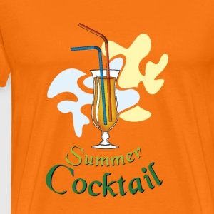 Summer cocktail - Men's Premium T-Shirt