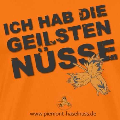 Geile Nuesse - Männer Premium T-Shirt