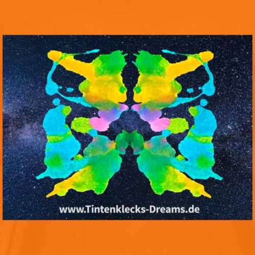 Tintenklecks-Dreams 6100 Motiv Seite 96, Galaxy - Männer Premium T-Shirt