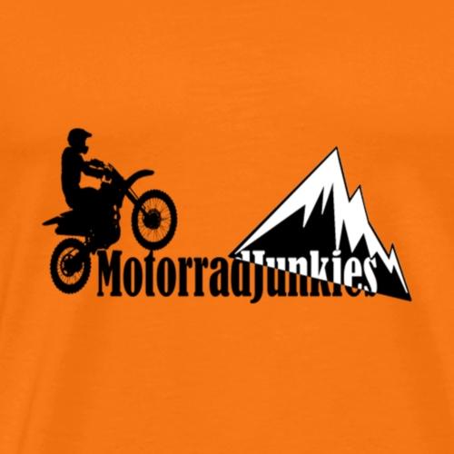 MotorradJunkies - Männer Premium T-Shirt
