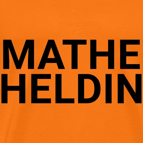 MATHEHELDIN - Männer Premium T-Shirt