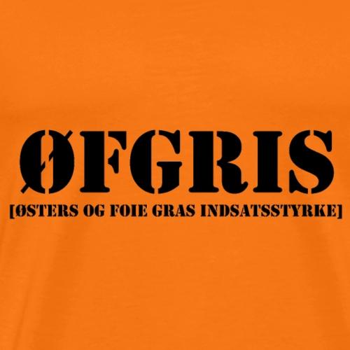 ØFGRIS - Bestsellere - Herre premium T-shirt