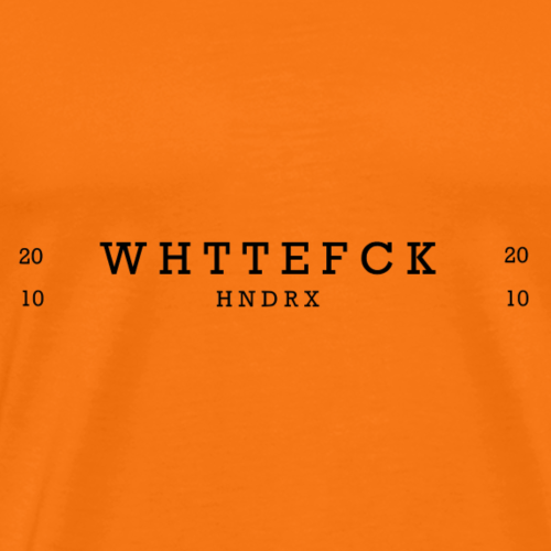 WTF Black - Men's Premium T-Shirt