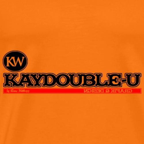 KAYDOUBLE U 4000x1280 - Männer Premium T-Shirt