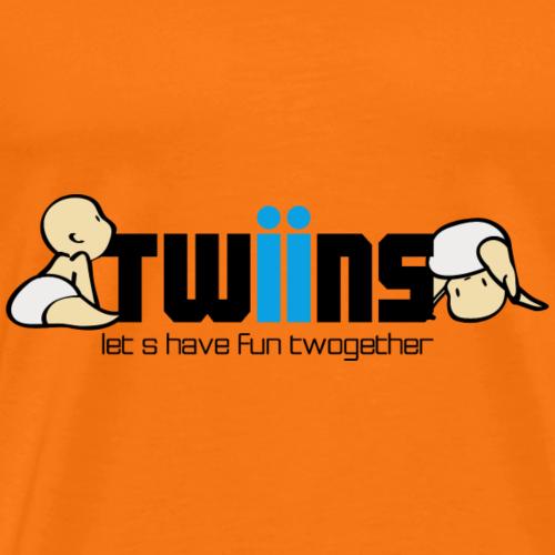 doppelt spass Zwillinge - Männer Premium T-Shirt