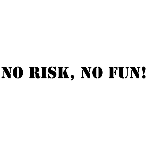 No risk no fun - Männer Premium T-Shirt