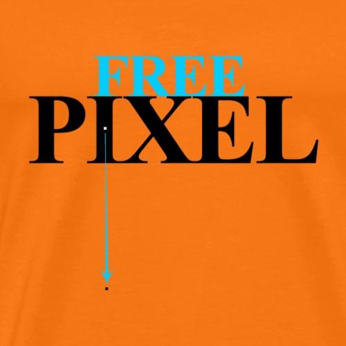 PIXEL LIBRE - T-shirt Premium Homme