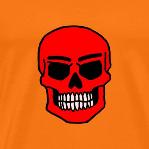 Red skull - Miesten premium t-paita