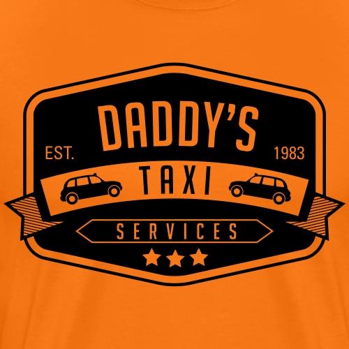 Daddys Taxi service 2 - Men's Premium T-Shirt
